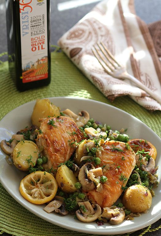 One Pot Chicken by DIane Kochilas Photo: Vasilis Stenos