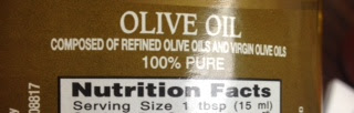 Refined may be good for some things but not my Olive Oil!